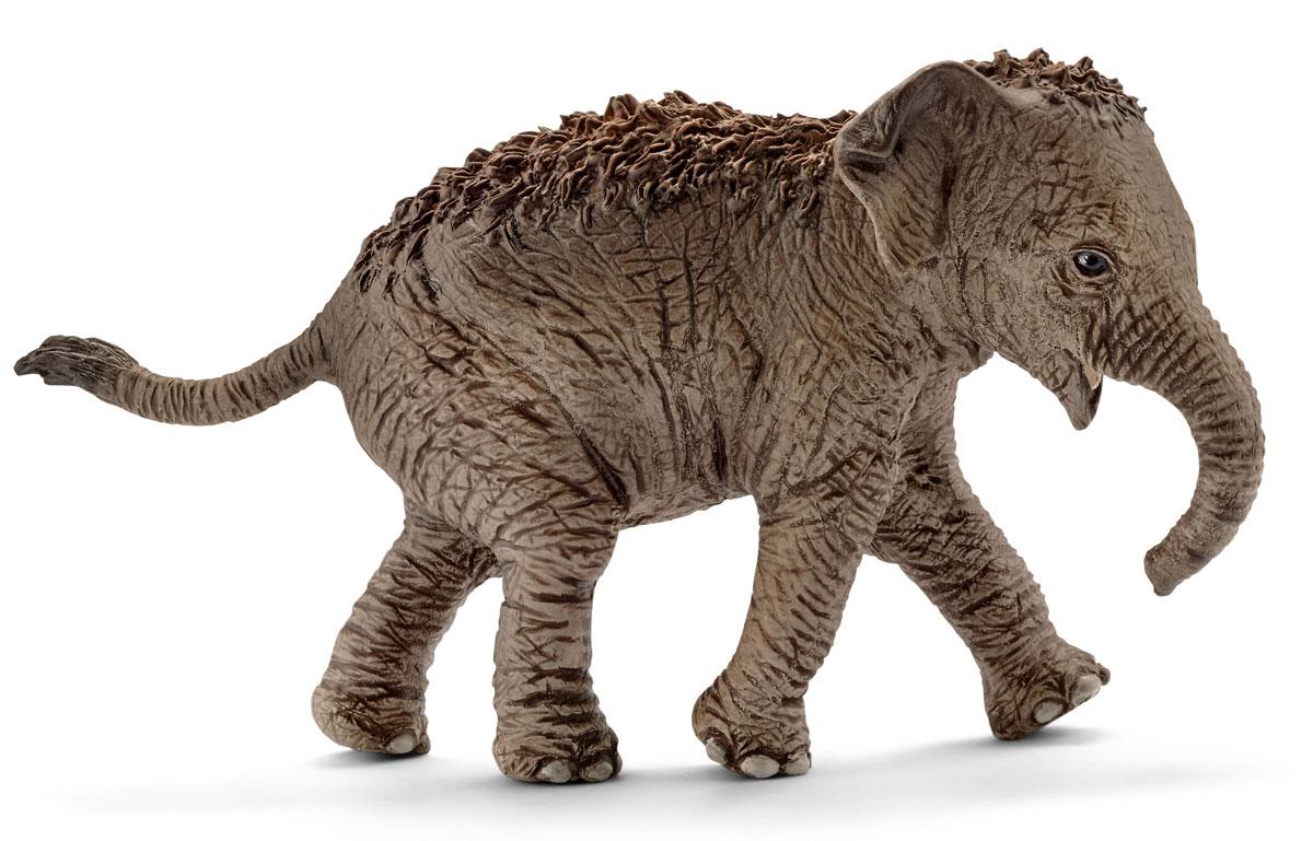 Schleich Фигурка Азиатский слон детеныш 14755 schleich гольштинская корова
