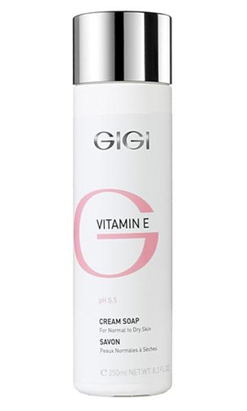 GIGI Жидкое крем-мыло для сухой и обезвоженной кожи Vitamin E, 250 мл202Нежное увлажняющее мыло с тонким ароматом для Для всех типов кожи, особенно для тонкой чувствительной и обезвоженной кожи. Действие: Не нарушает рН и барьерных свойств кожи, не сушит, великолепно очищает кожу от макияжа и загрязнений. Можно использовать вместо очищающего молочка для снятия макияжа с век и лица. Активные ингредиенты: витамин Е, гель Алоэ Вера, экстракт ромашки, пантенол.