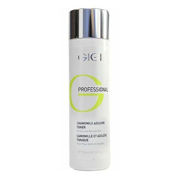 GIGI Professional Азуленовый лосьон-тоник Outserial, 250 мл5606Предназначен для Для всех типов кожи, особенно для раздраженной и сверхчувствительной. Не содержит спирта! Действие: Дополнительно увлажняет и тонизирует кожу, не пересушивая ее. Нормализует обменные процессы в клетках. Обладает успокаивающим, охлаждающим, противовоспалительным и дезинфицирующим действием. Активные ингредиенты: Азулен, экстракт ромашки, мочевина, аллантоин.