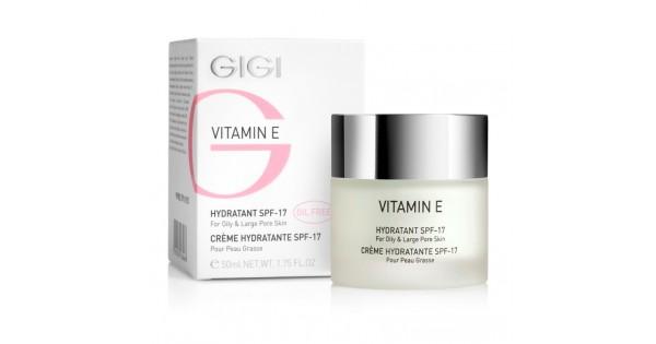 GIGI Крем увлажняющий для комбинированной и жирной кожи SPF17 Vitamin E, 50 млGIGI201Крем представляет собой легкую обезжиренную некамедогенную эмульсию. Основан на комбинации особо активных увлажнителей, похожих по составу на NMF (натуральный увлажняющий фактор). Действие: Восстанавливает гидро-липидный и кислотно-щелочной баланс кожи, регулирует салоотделение, оказывает мягкое противовоспалительное и регенерирующее действия. Триэтаноламин дает необходимое сбалансированное увлажнение путем гидролизации и расщепления излишков жира. Витамин Е нейтрализует свободные радикалы и препятствует повреждению ДНК клеток, что уменьшает имеющиеся морщинки и предотвращает появление новых. Активные ингредиенты: рисовый крахмал, сквален, витамин Е, гель Алоэ Барбаденсис, аллантоин, камфара, экстракт стенки дрожжей, ВНТ.