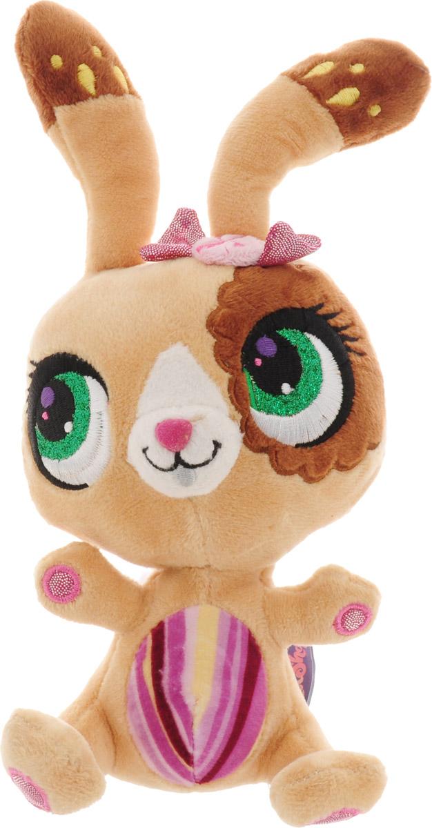Мульти-Пульти Мягкая озвученная игрушка Littlest Pet Shop Кролик 17 см, Shanghai First Arts&Crafts Co Ltd