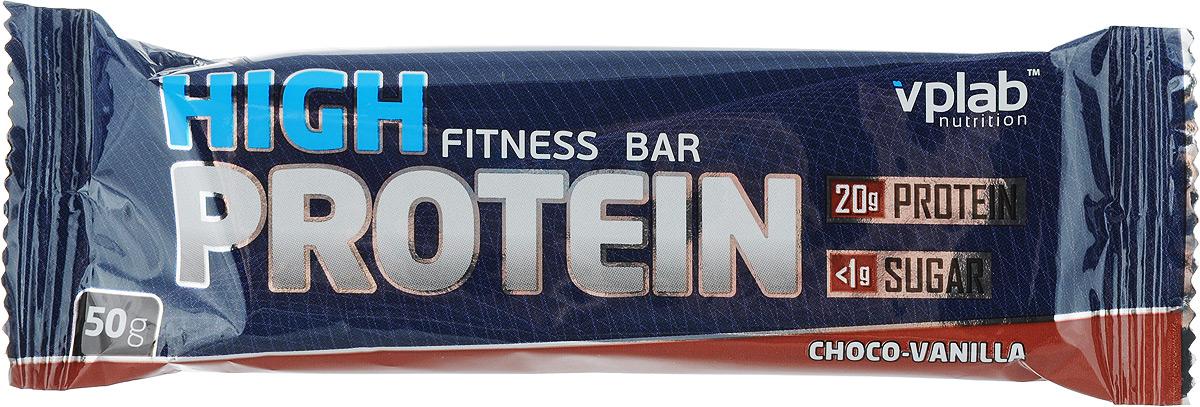 Батончик протеиновый VP Laboratory 40% Хай Протеин Бар, шоколад-ваниль, 50 г vp laboratory vp laboratory fitactive l carnitine fitness drink 500гр page 2