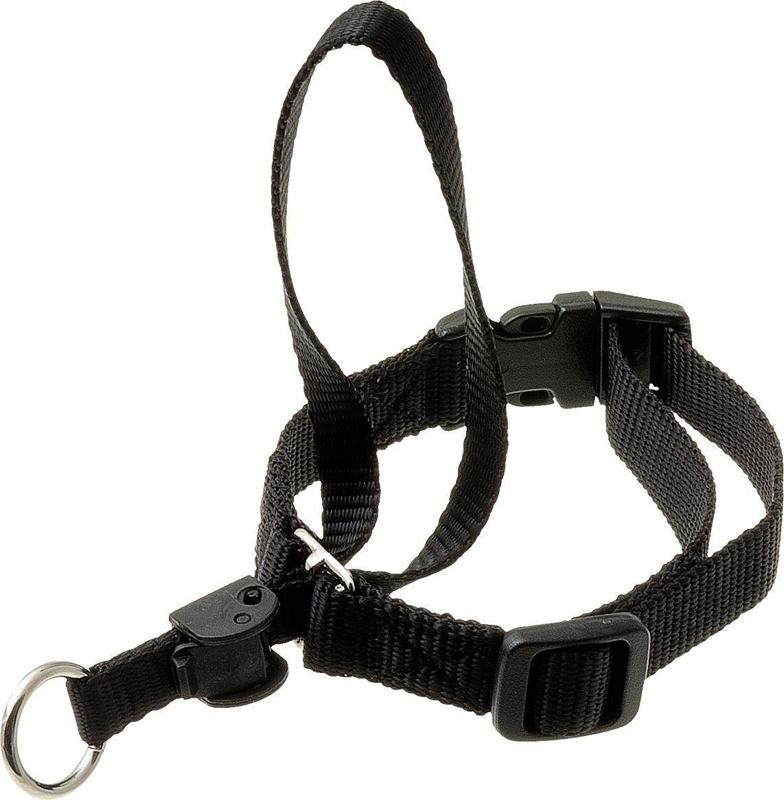 Недоуздок для собак V.I.Pet, цвет: черный. Размер 1 (шея 29-38 см) недоуздок для собак в иркутске