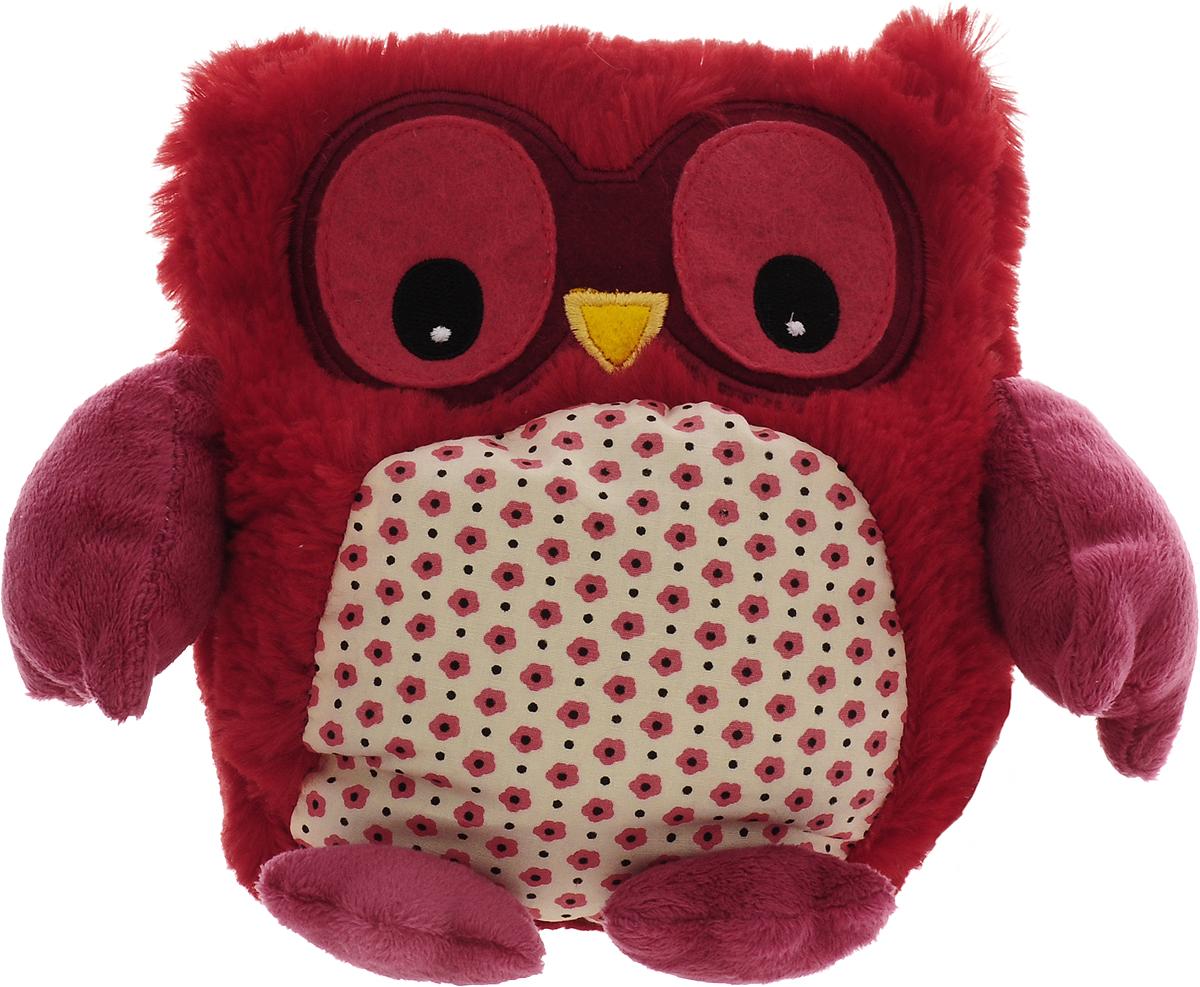 Фото Warmies Мягкая игрушка-грелка Совенок цвет красный. Покупайте с доставкой по России