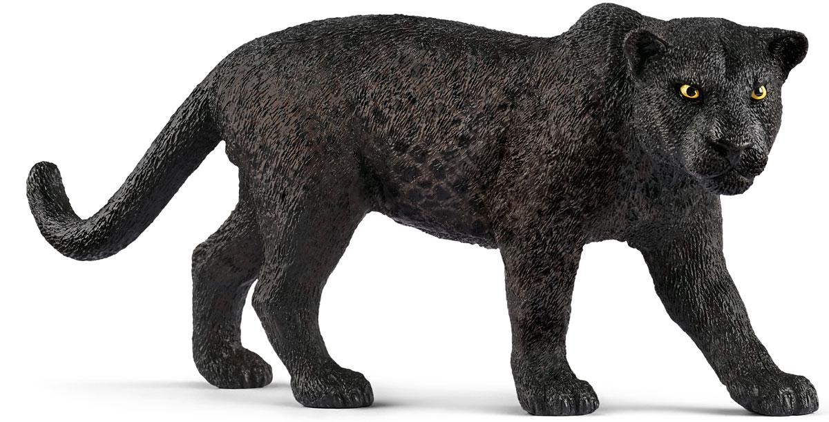 Schleich Фигурка Черная пантера schleich гановерская кобыла schleich