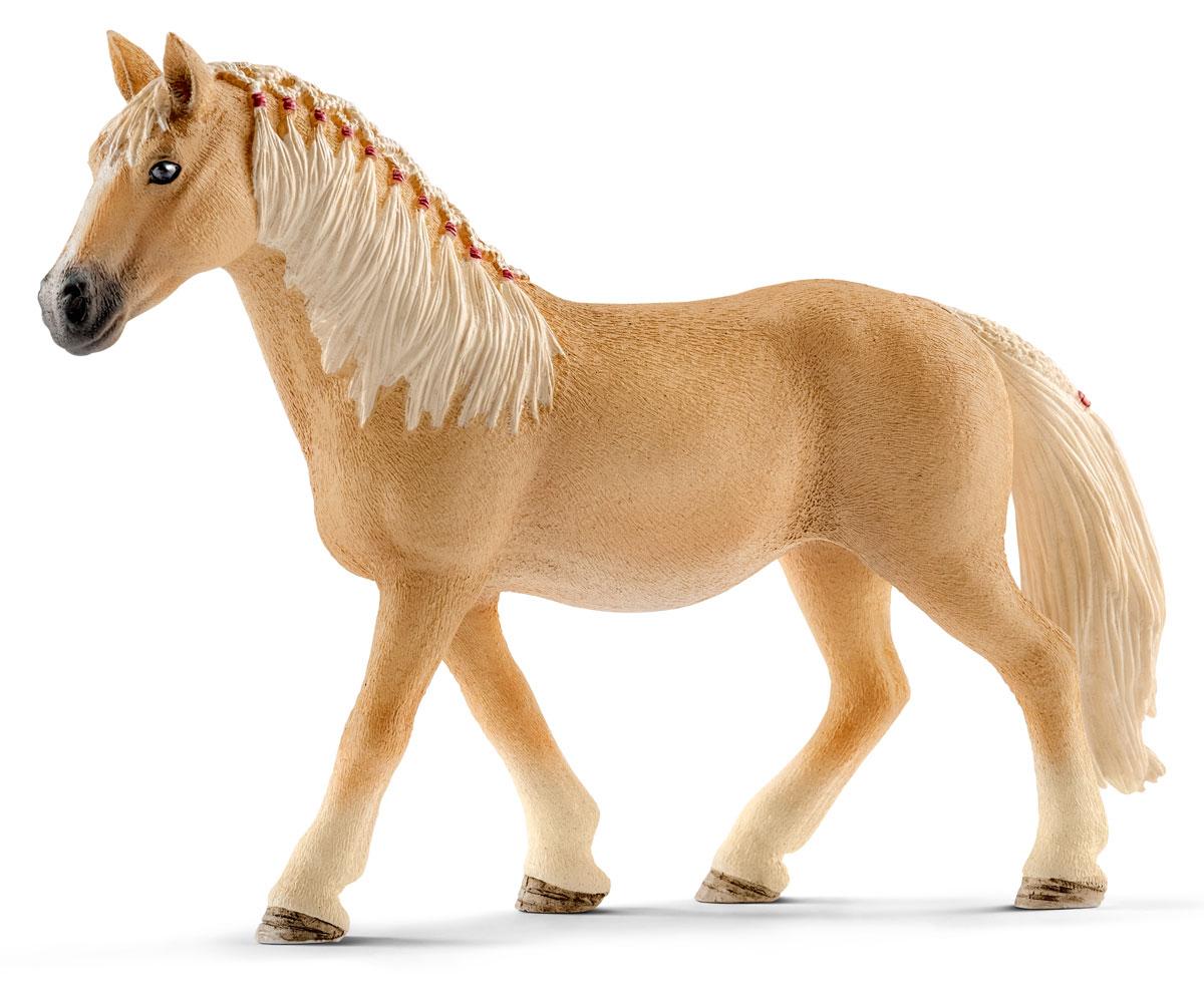 Schleich Фигурка Кобыла Хафлингер c плетеной гривой schleich тракененская лошадь кобыла schleich