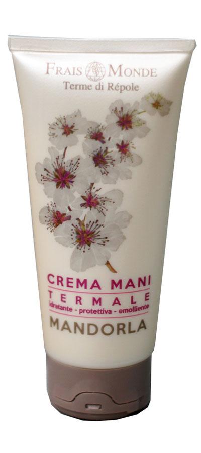 Frais Monde Крем для рук с ароматом миндаля, 100 млFMFCM39Нежный крем с натуральным увлажнением. Содержит растительные компоненты, дополненные маслом сладкого миндаля и масла ши. Эффективно защищает кожу рук от внешних воздействий и трещин; делает ее гладкой, мягкой и идеально увлажненной. Оставляет приятный аромат Миндаля.