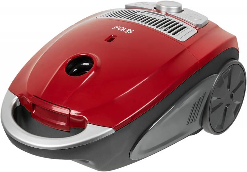 Sinbo SVC 3478Z, Red Black пылесосSVC 3478ZПылесос Sinbo SVC 3478Z предназначен для сухой уборки в помещениях с различными покрытиями. Прибор обеспечен пылесборником емкостью 4,0 л., который не потребует частой замены.Дополнительный тканевый мешок для сбора пыли прилагаетсяв комплекте.Регулировать мощность в зависимости от типа уборки вам поможет удобно расположенный на корпусе пылесоса переключатель. Также в данной модели пылесоса для вашего удобства предусмотрена функцияавтоматического сматывания шнура. Нажатием соответствующей клавиши шнур втягивается внутрь корпуса пылесоса, что значительно облегчает сматывание шнура после уборки. Работа с пылесосом особенно удобна благодаря стальнойтелескопическойтрубке, которую можно легко настроить на нужную длину и зафиксировать в таком положении.