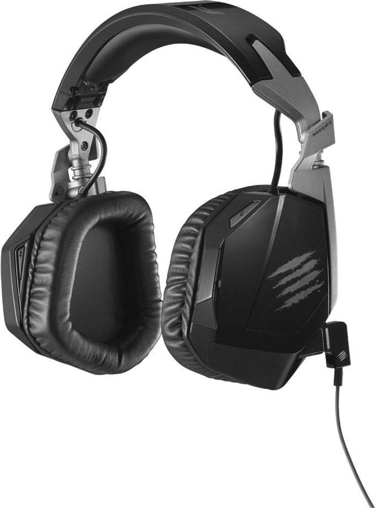 Mad Catz F.R.E.Q.3 Stereo Headset, Black игровые наушники гаджет геймпад mad catz c t r l i mobile gamepad gloss orange mcb312630a10 04 1