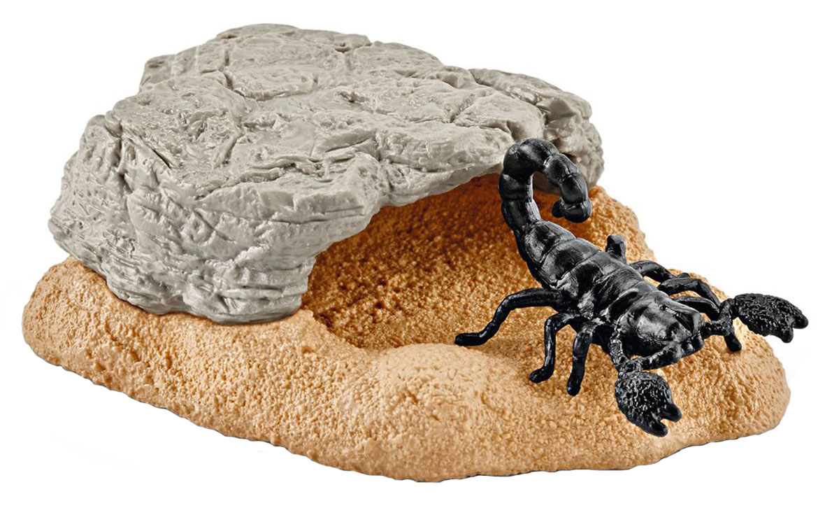 Schleich Игровой набор Пещера скорпионов schleich игровой набор силос с животными
