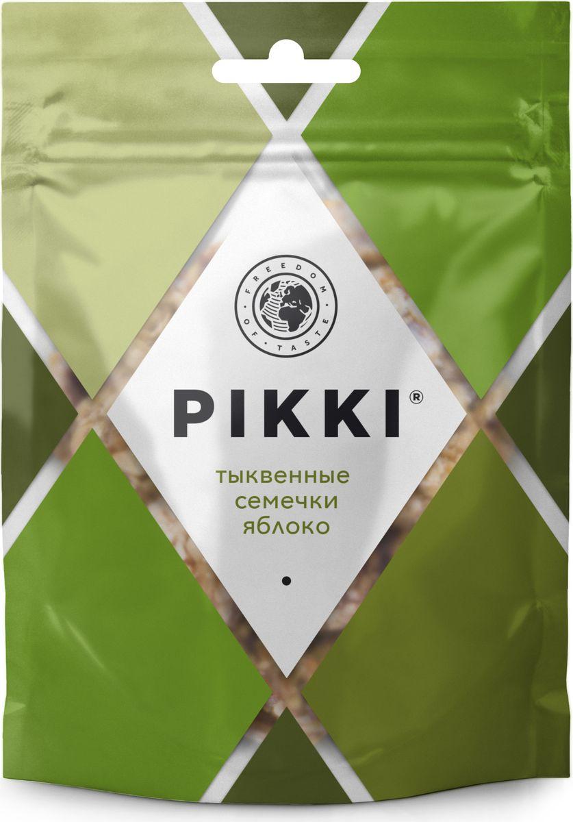 Pikki Тыквенные семечки-Яблоко конфеты орехово-фруктовые, 50 гУТ040810416Полезные снеки из орехов, злаков и сухофруктов для быстрого перекуса.