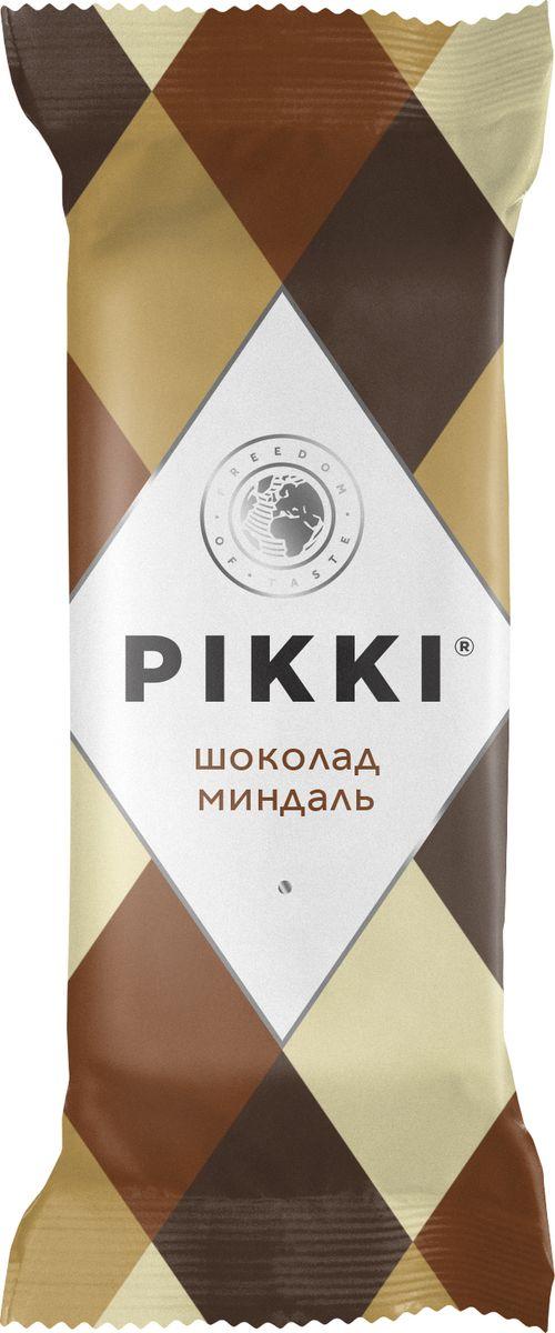 Pikki Шоколад-Миндаль батончик орехово-фруктовый, 35 г pikki мюсли кокос кешью шоколад батончик орехово фруктовый 50 г