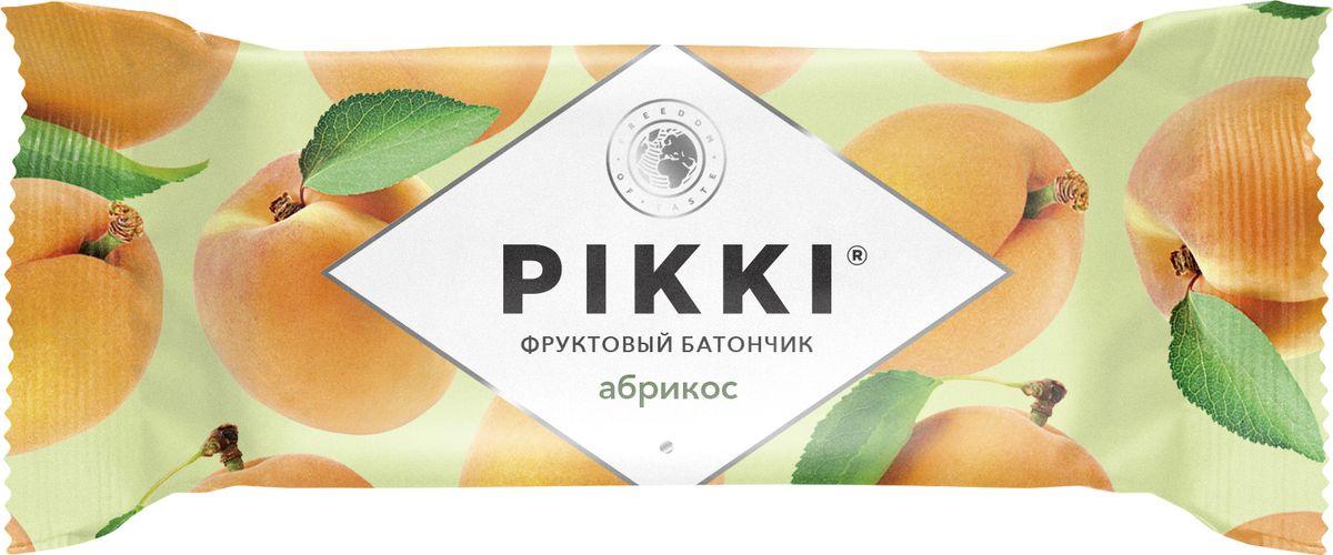 Pikki Абрикос-Яблоко батончик орехово-фруктовый, 25 г pikki мюсли кокос кешью шоколад батончик орехово фруктовый 50 г