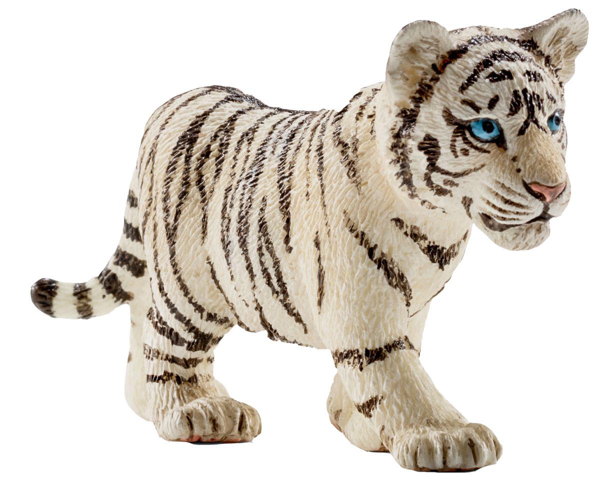 Schleich Фигурка Белый тигренок schleich фигурка тигренок