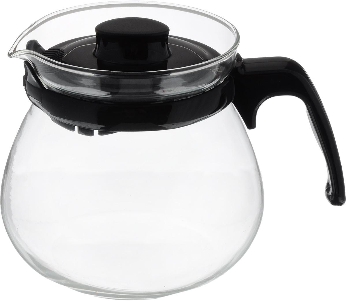 Чайник заварочный Appetite, стеклянный, 700 млS48-1Заварочный чайник Appetite изготовлен из высококачественного термостойкого стекла. Крышка выполнена с тонкими прорезями, которые задерживают чаинки и предотвращают их попадание в чашку. Чайник снабжен удобной ручкой. Чай в стеклянном чайнике долго остается горячим, а полезные и ароматические вещества полностью сохраняются в напитке.Не использовать в посудомоечной машине.Диаметр основания чайника: 8 см. Высота чайника: 11 см.