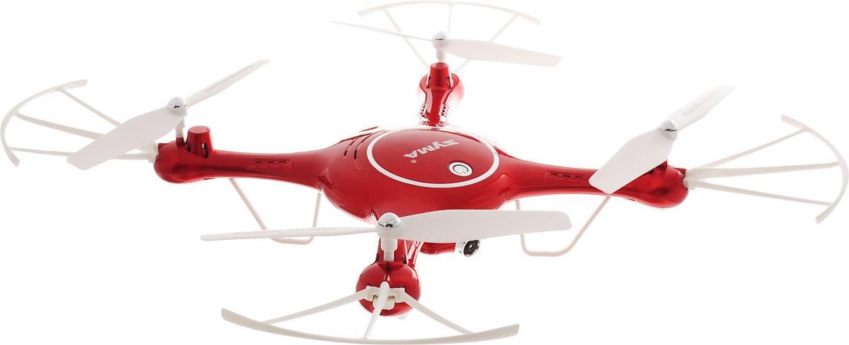 Syma Квадрокоптер на радиоуправлении X5UW цвет красный