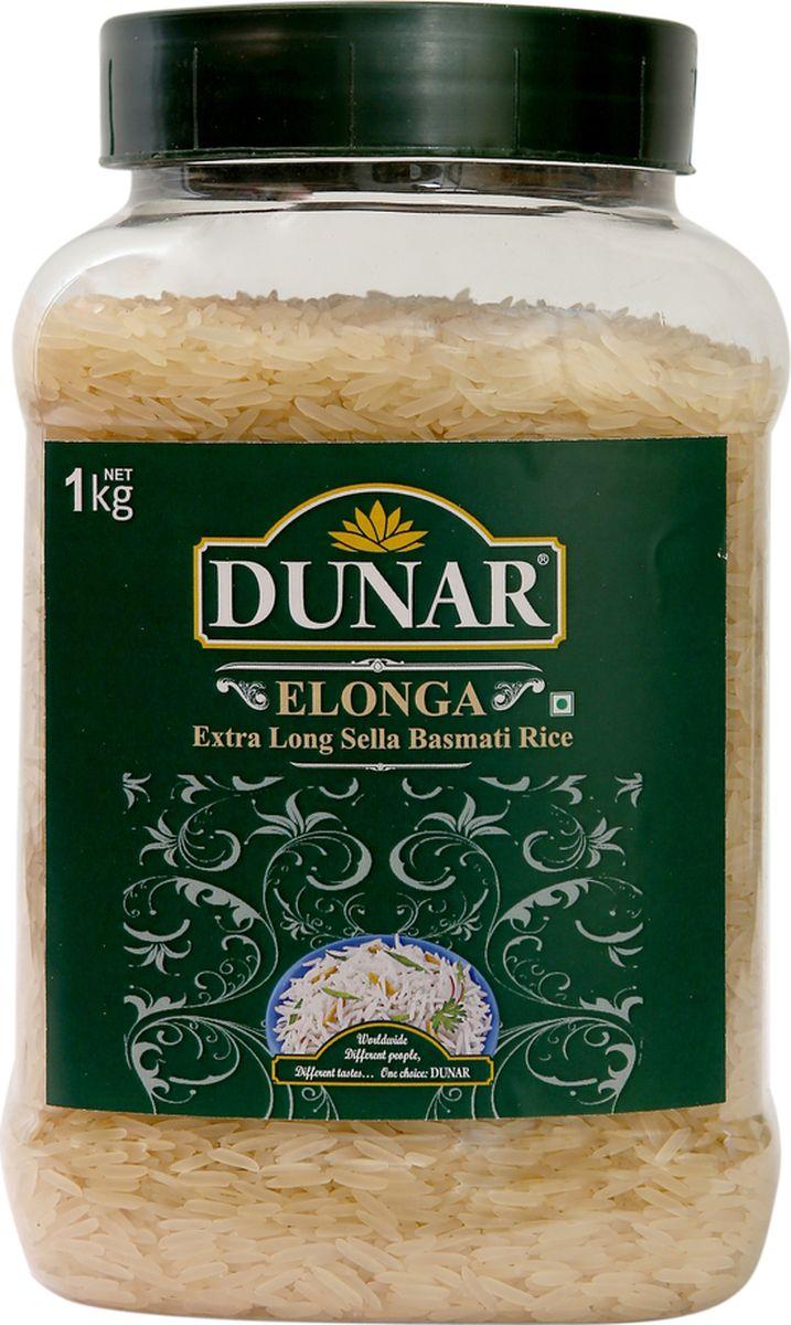 Dunar Elonga Sella пропаренный басмати рис, 1 кг0120710Пропаренный кремовый рис басмати, выдержка риса 2 года, длина риса в приготовленном виде 19 мм.