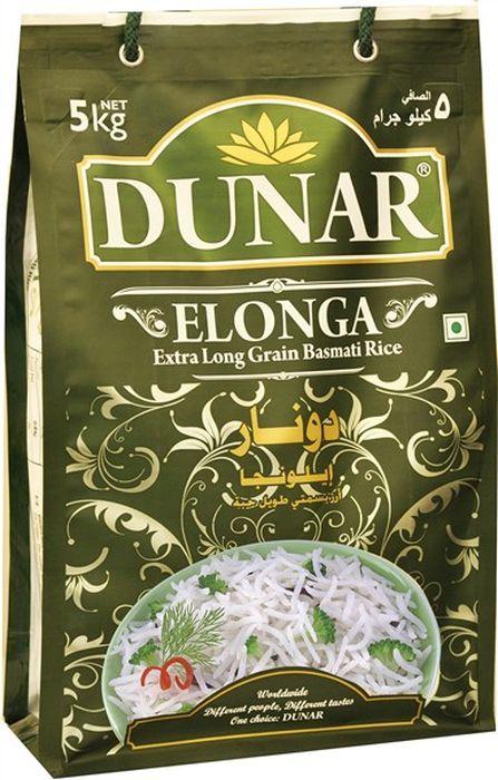 Dunar Elonga самый длинный басмати рис, 5 кгДунар 7Самый длинный с белым зёрнами рис басмати, выдержка риса 2 года, длина риса в приготовленном виде 19 ммЛайфхаки по варке круп и пасты. Статья OZON Гид