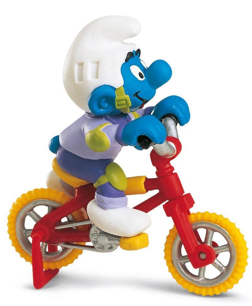 Schleich Фигурка Гномик на велосипеде фигурки игрушки schleich гномик в розовой машинке