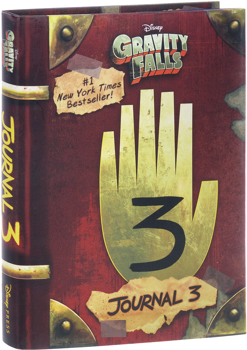 Gravity Falls: Journal 3 the spy with 29 names page 3