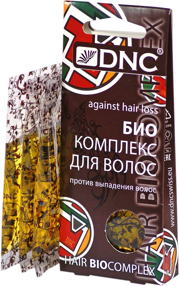 Биокомплекс для волос DNC, против выпадения, 3х15 мл dnc набор филлер для волос 3 15 мл и шелк для волос 4 10 мл