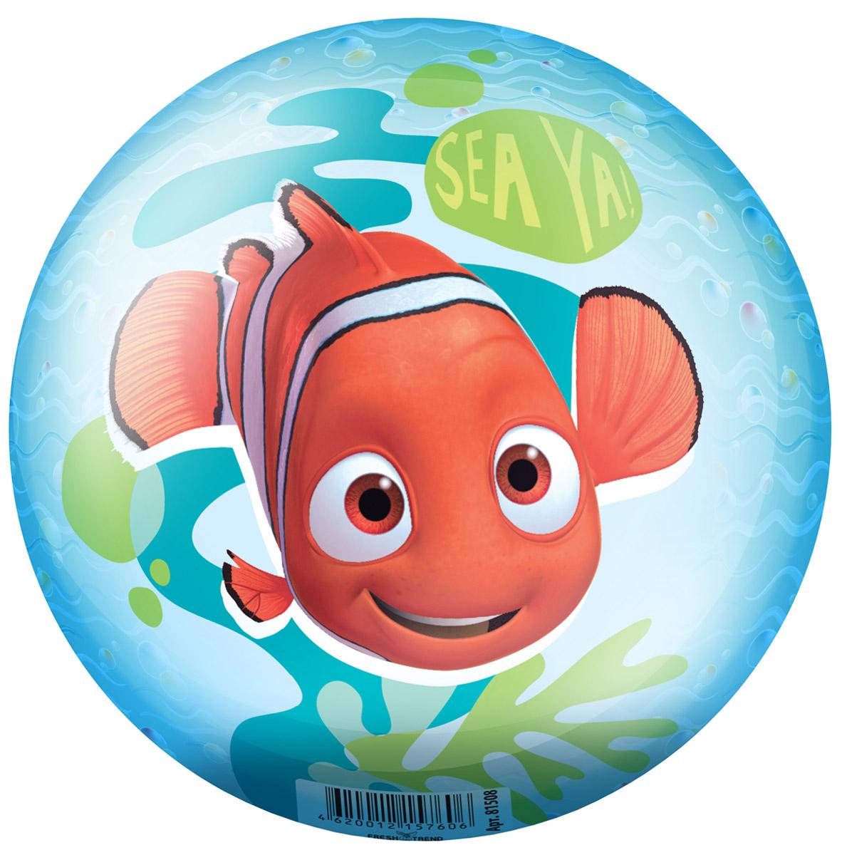 Fresh Trend Мяч В поисках Немо 15 см мячики и прыгуны fresh trend мяч в поисках немо 23 см