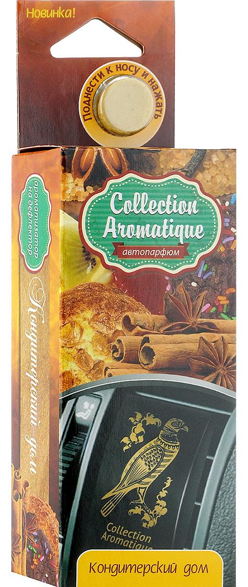 Ароматизатор автомобильный Fouette Кондитерский Дом, на дефлектор ароматизатор автомобильный fouette антитобак на дефлектор