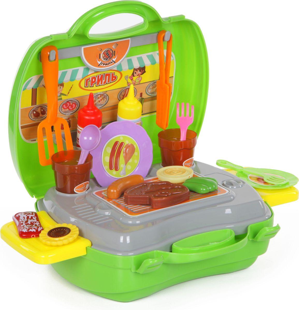 Yako Игровой набор Гриль 36 предметов в чемоданчике yako yako детские строительные инструменты в чемоданчике