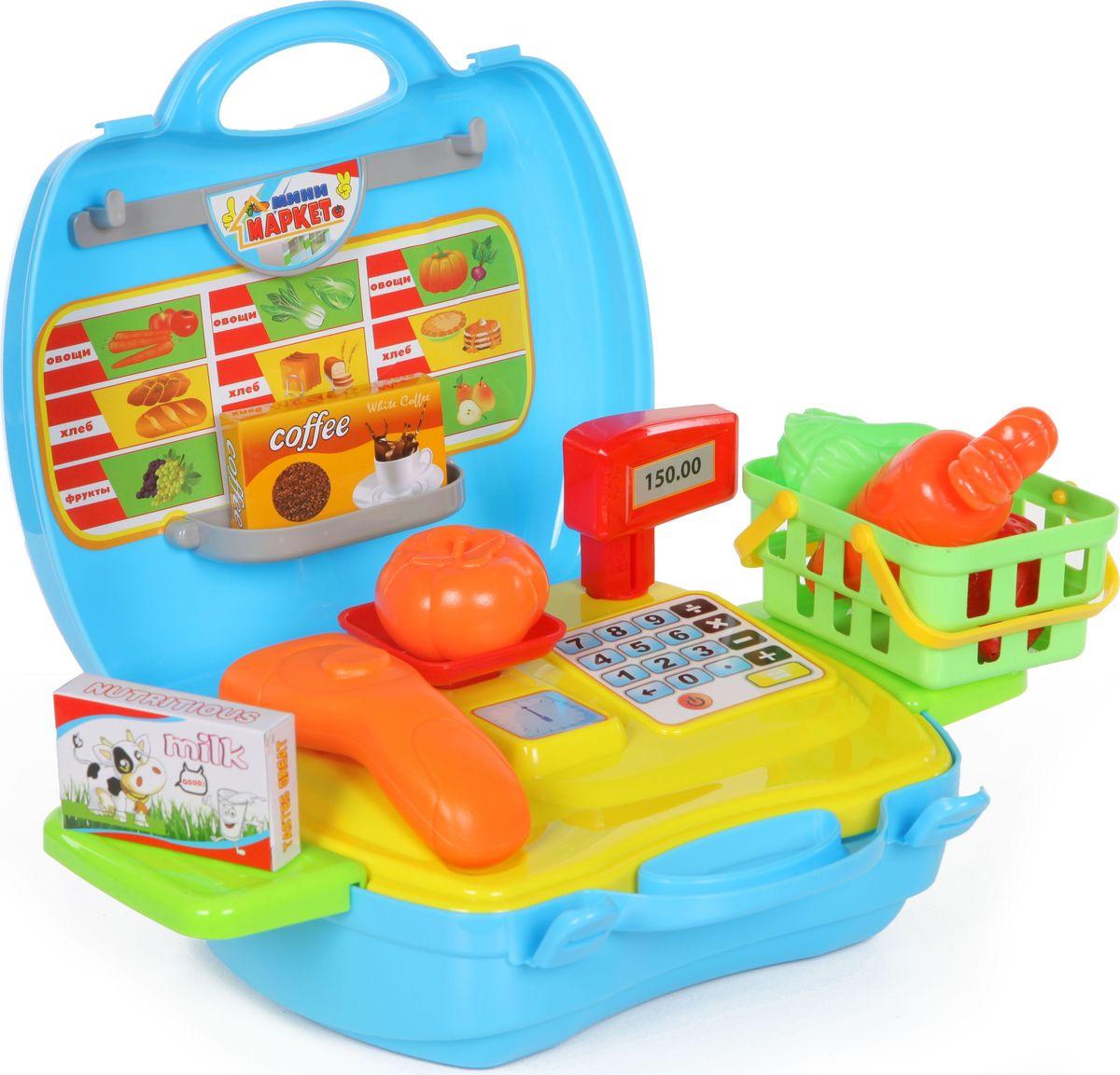 Yako Игровой набор Минимаркет 18 предметов в чемоданчике yako игровой набор гараж 4 уровня y3941870