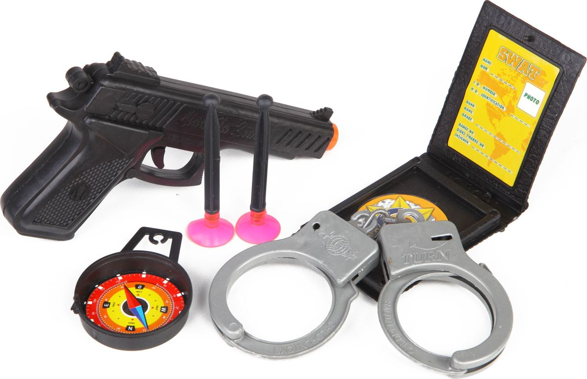 Yako Игровой набор Полиция M6093 yako игровой набор гараж 4 уровня y3941870
