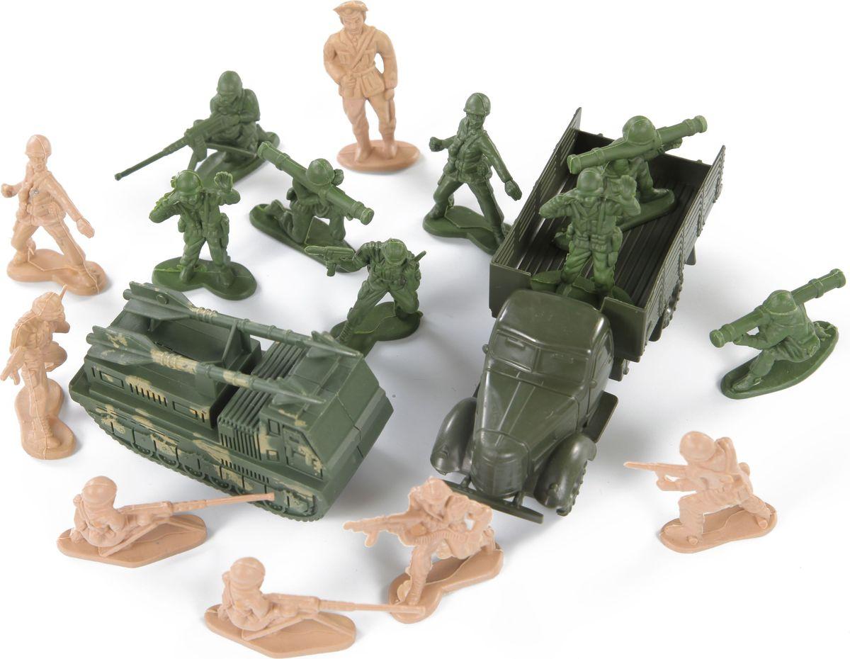 Yako Набор солдатиков Армия M6130 yako игровой набор гараж 4 уровня y3941870