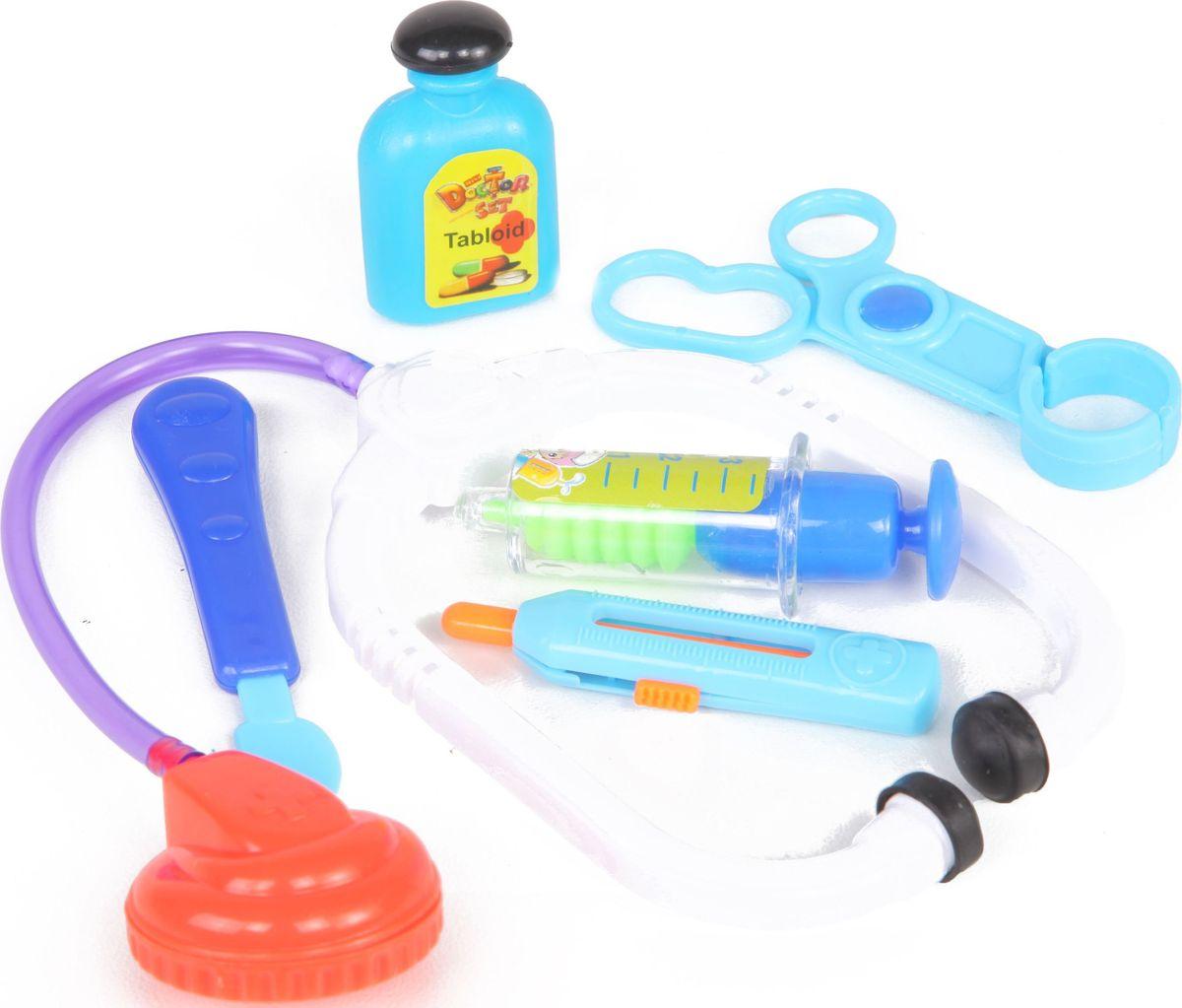 Yako Игровой набор Доктор 6 предметов M6184 игровые наборы yako игровой набор гриль