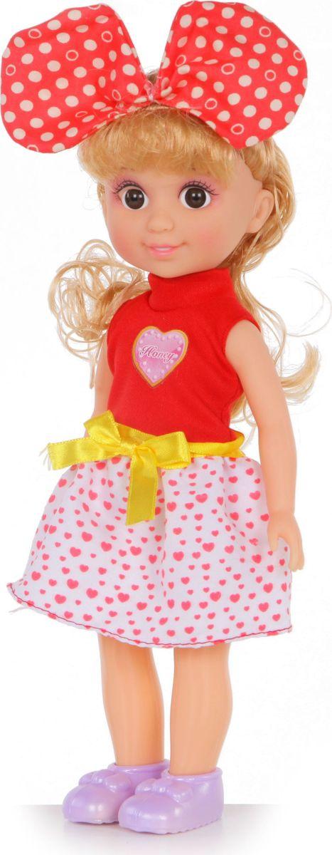 Yako Кукла Jammy блондинка цвет наряда красный белый yako кукла софи цвет платья бордовый