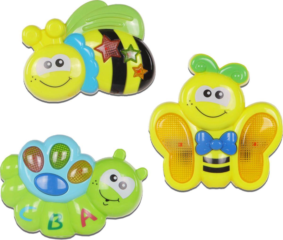 Huile Toys Набор развивающих музыкальных игрушек 3 шт Y1567218 huile игрушка музыкальная собачка с телефоном
