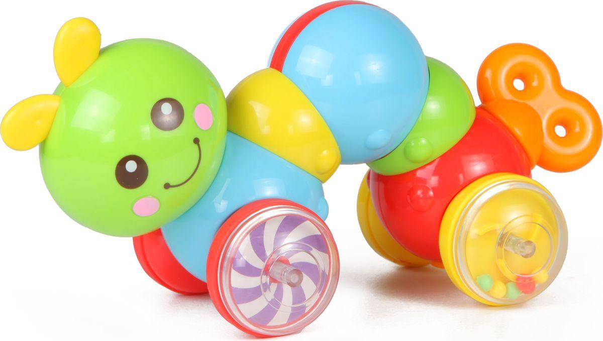 Huile Toys Игрушка-каталка Гусеница bauer toys игрушка каталка самолет