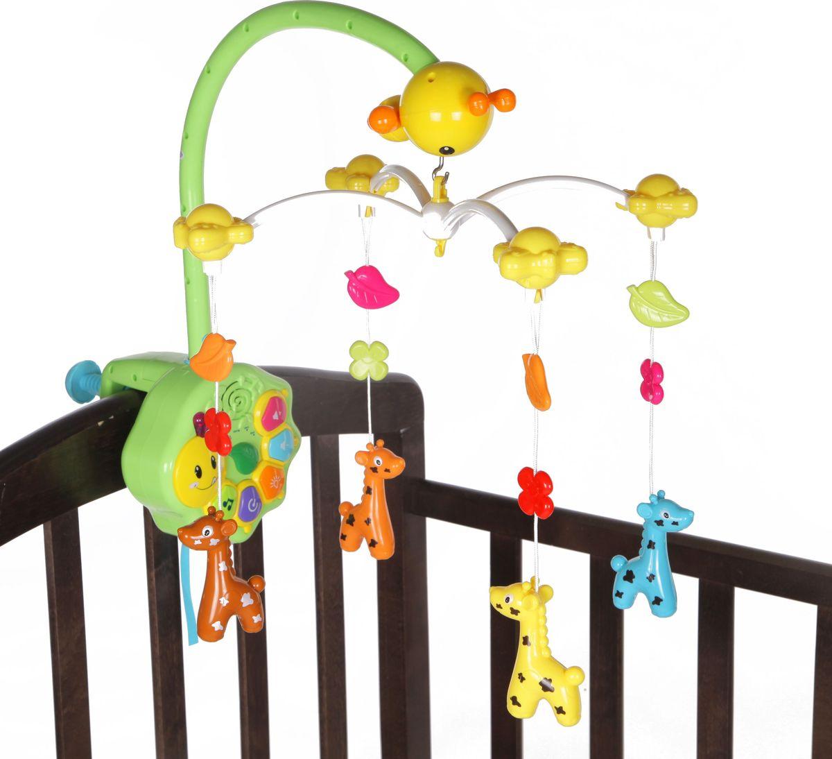 Bairun Мобиль Музыкальная карусель Y360688 - Игрушки для малышей