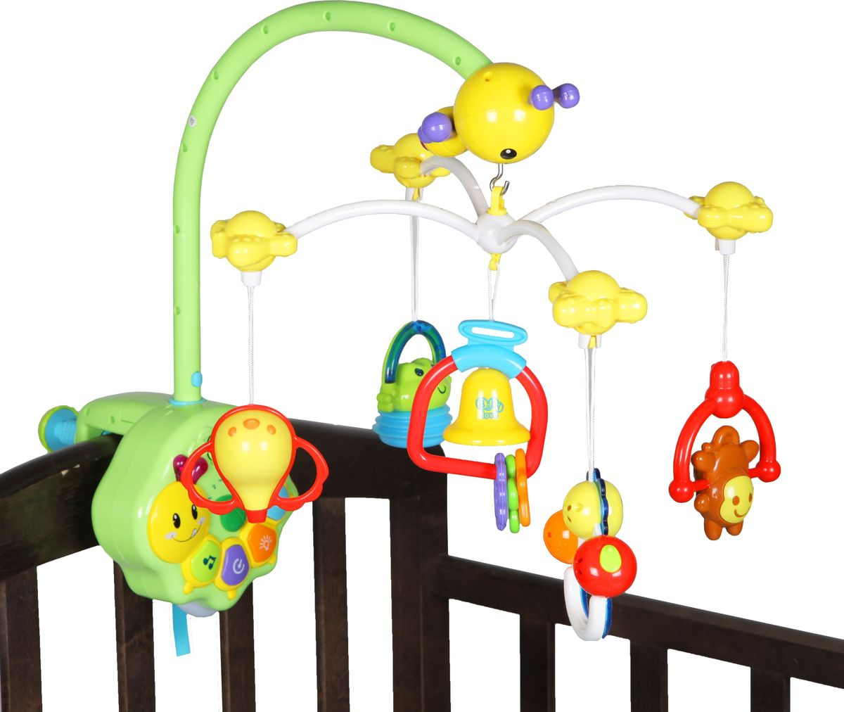 Bairun Мобиль Музыкальная карусель Y360900 - Игрушки для малышей