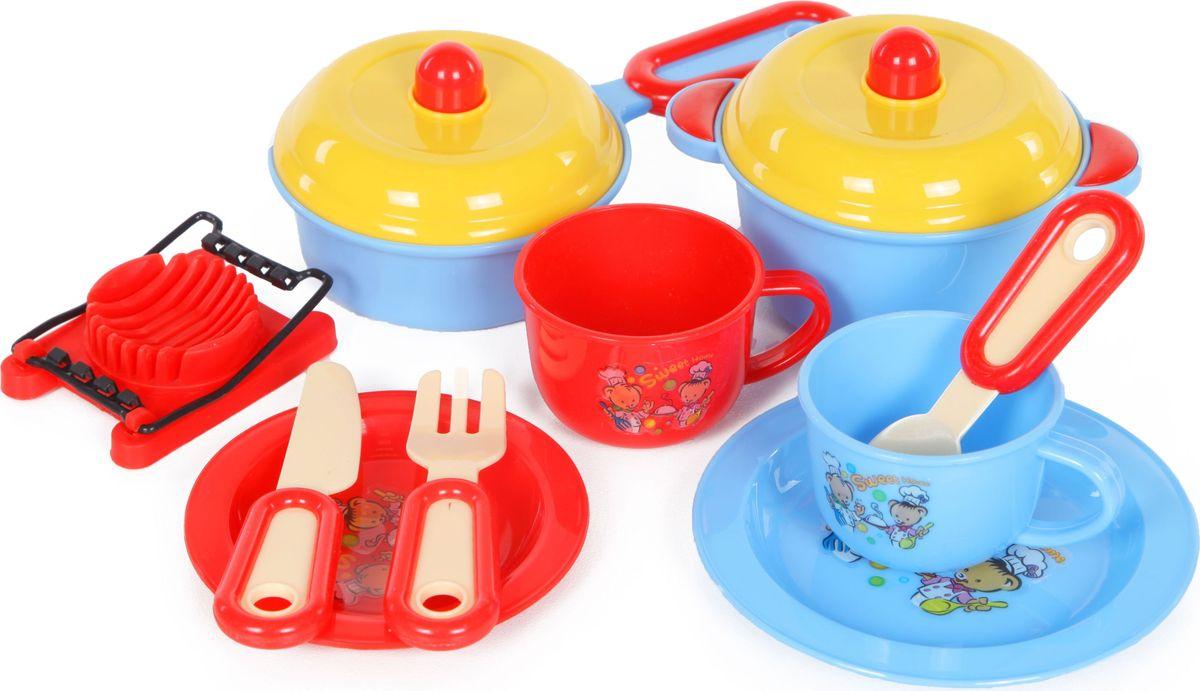 Yako Игровой набор Посуда Y5155385 yako игровой набор гараж 4 уровня y3941870