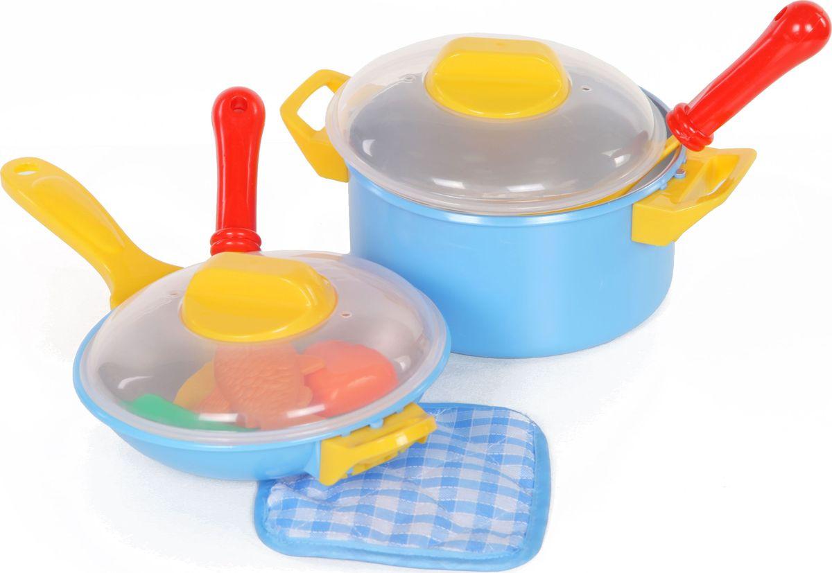 Yako Игровой набор посуды Пиццерия Y5155521 yako игровой набор гараж 4 уровня y3941870