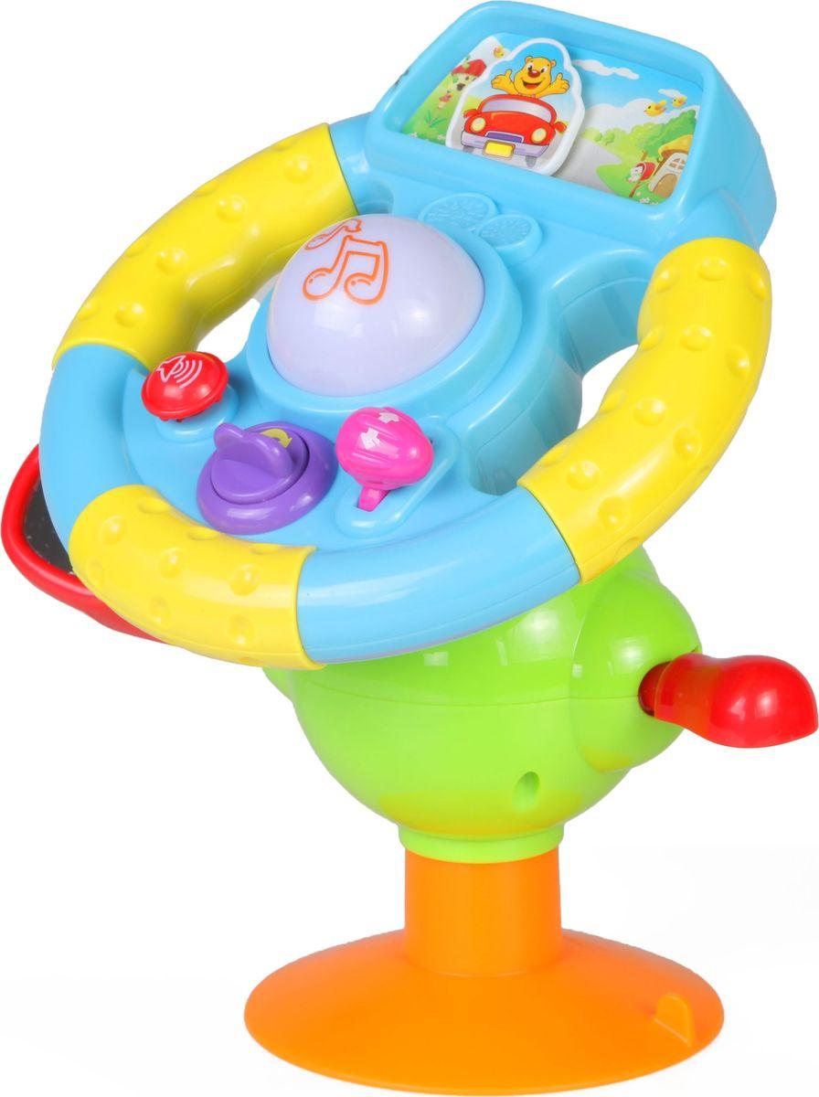 Huile Toys Развивающая игрушка Руль музыкальный руль купить