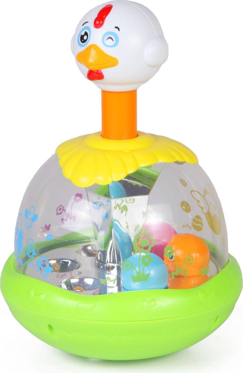 Huile Toys Волчок Утка-каруселька Y61196 смеситель в виде утки