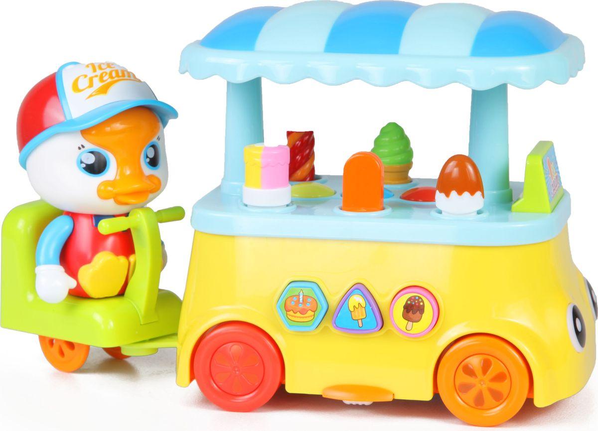 Huile Toys Развивающая игрушка Лоток мороженщика Y61249 huile toys развивающая игрушка руль
