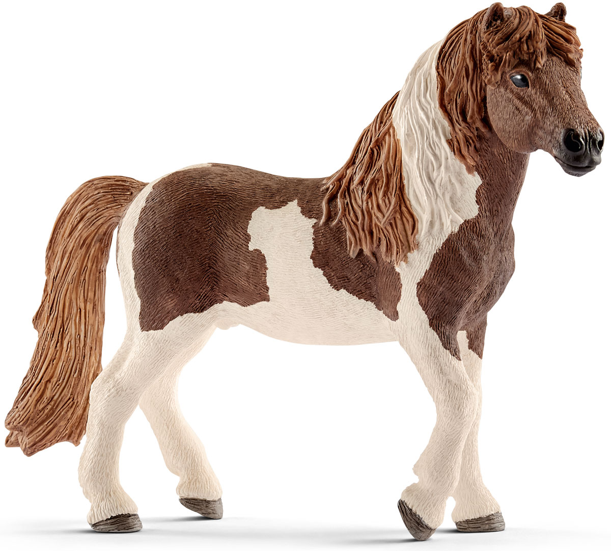Schleich Фигурка Исландский пони жеребец конюх и исландский пони schleich