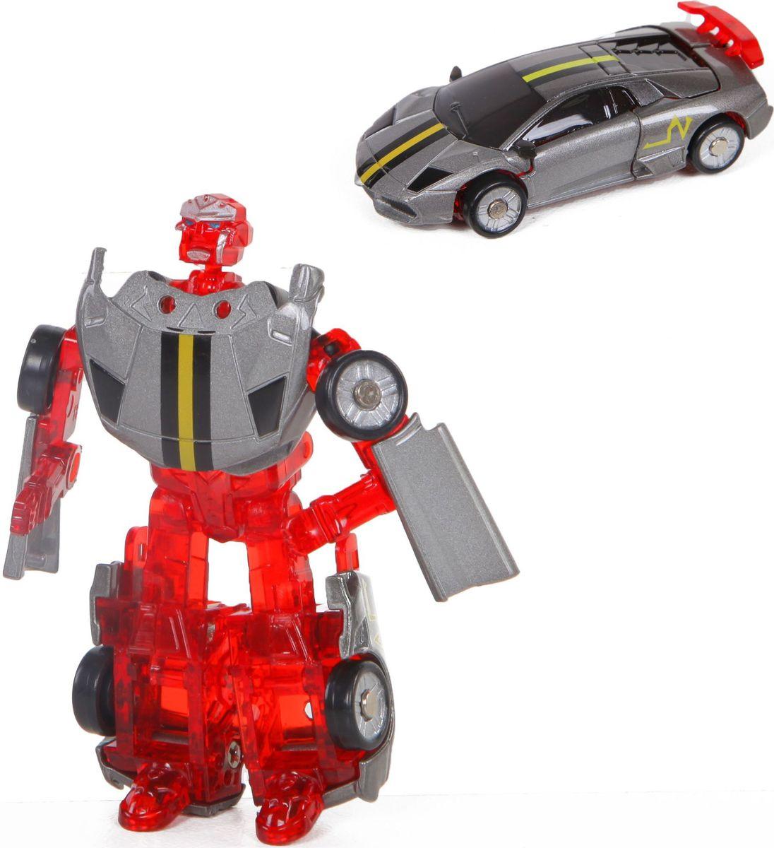 Yako Робот-трансформер цвет красный серый Y3686091-2 кукла yako m6579 6