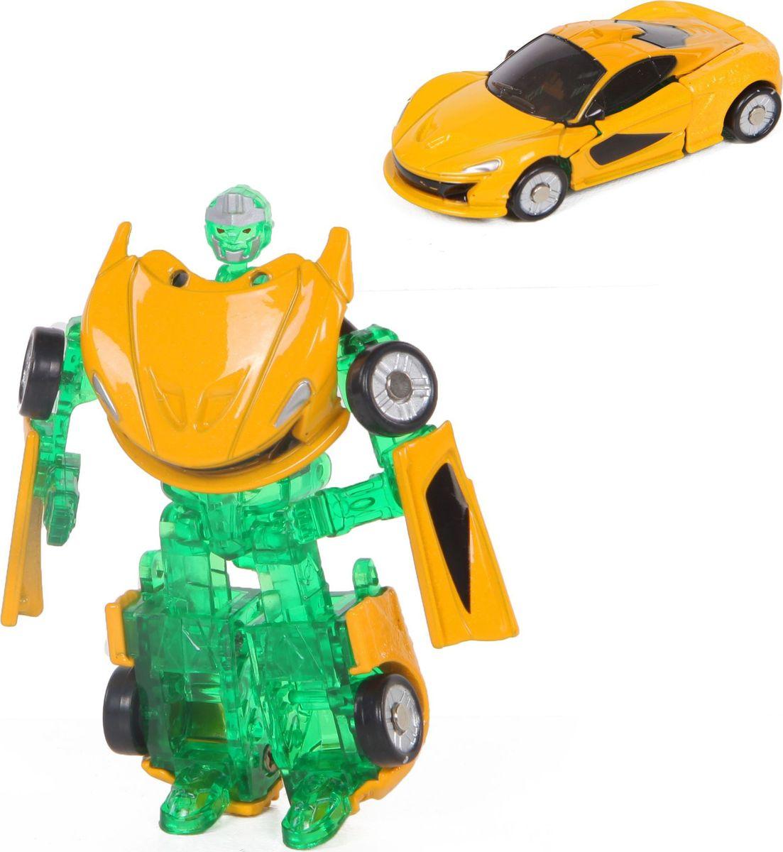 Yako Робот-трансформер цвет желтый зеленый Y3686093-2 игра yako кухня y18614127