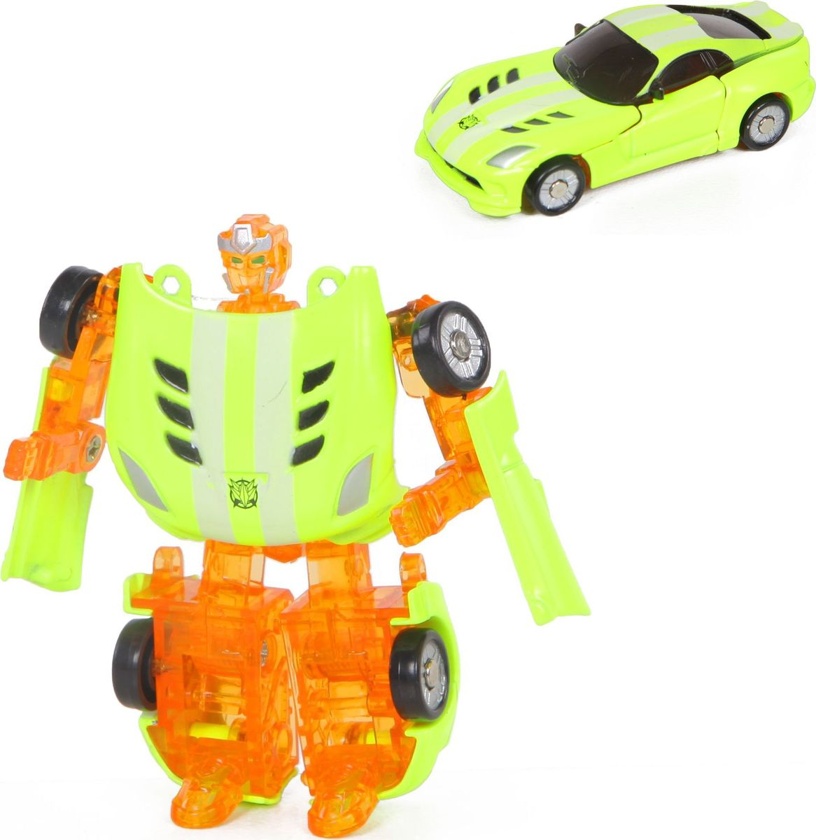 Yako Робот-трансформер цвет салатовый оранжевый Y3686095-2 игра yako кухня y18614127