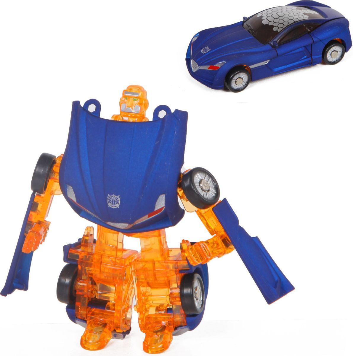 Yako Робот-трансформер цвет синий желтый Y3686096-2 интерактивные игрушки yako робот y2055209