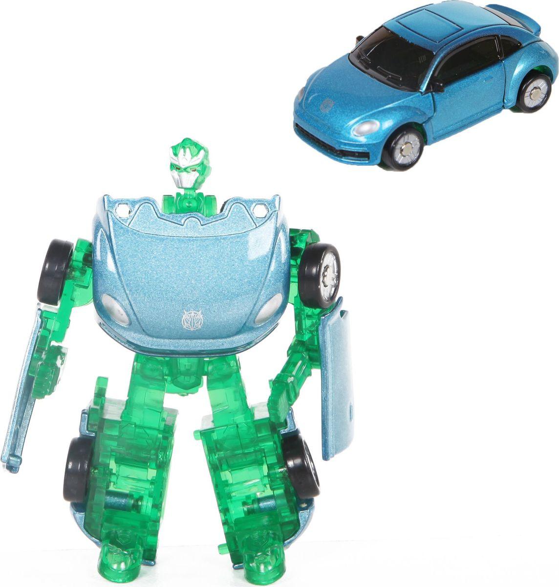 Yako Робот-трансформер цвет голубой зеленый Y3686144-1 кукла yako m6579 6