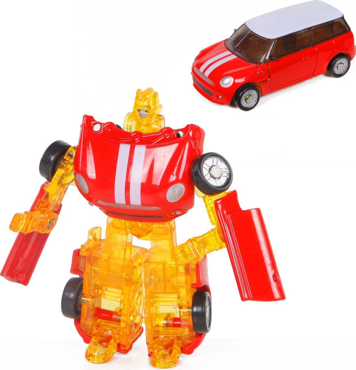 Yako Робот-трансформер цвет красный Y3686145-2 игра yako кухня y18614127