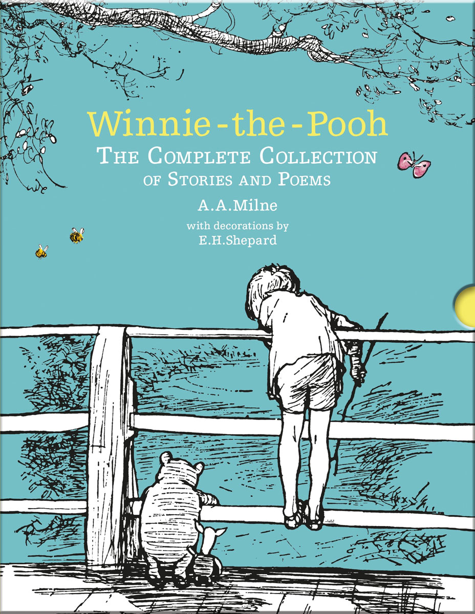 Winnie-the-Pooh: The Complete Collection of Stories and Poems winnie the pooh the house at pooh corner